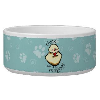 Chick Magnet Pet Dog Water Bowl
