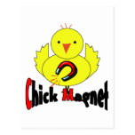 Chick Magnet Post Card