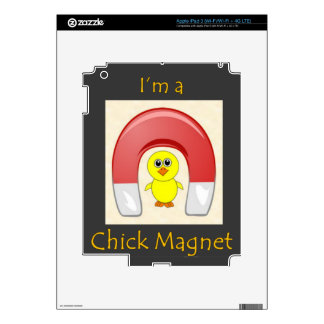 Chick Magnet Skin For iPad 3