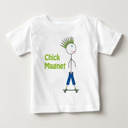 Chick Magnet Stick Figure Tshirt