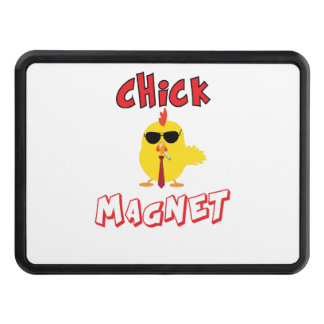 Chick magnet trailer hitch cover