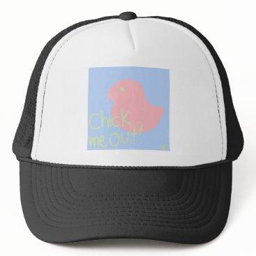 jasmineflynn Chick Me Out 2 Trucker Hat