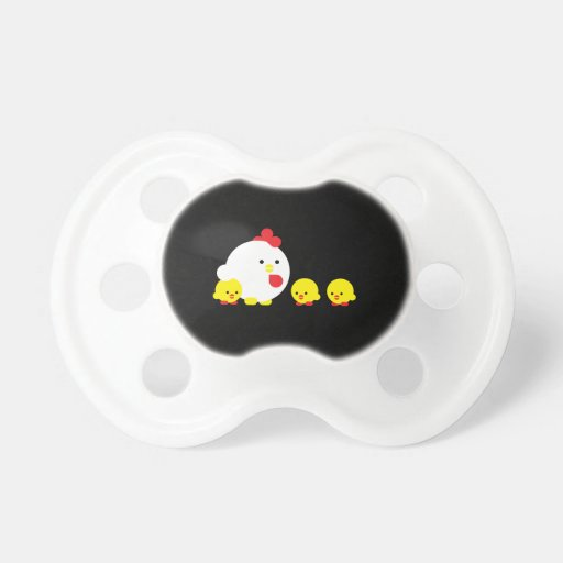 Chick 'n chicks baby pacifier