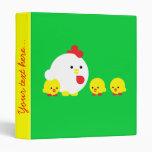 Chick 'n chicks binders