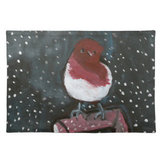 Chick on a shovel American MoJo Placemat