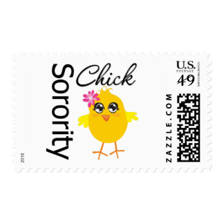 Chick Postage Stamp