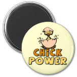 Chick Power T-shirts and Gifts For Her Fridge Magnet