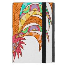 chick rooster bird design art colorful fun cool iPad mini cover