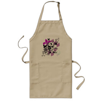 Chick Skull Aprons