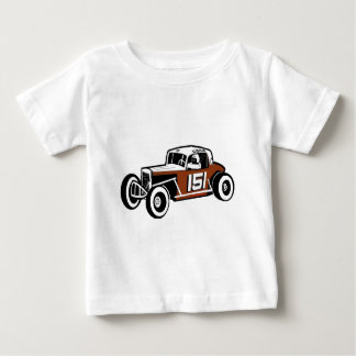 Chick Stockwell Old Time Race Car Racearena Baby T-Shirt
