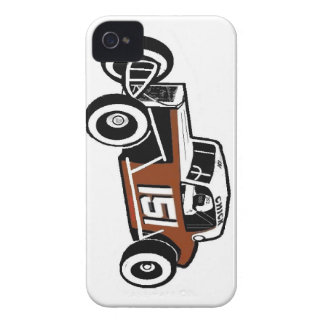 Chick Stockwell Old Time Race Car Racearena iPhone 4 Case-Mate Case