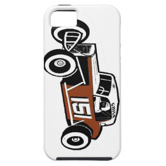 Chick Stockwell Old Time Race Car Racearena iPhone SE/5/5s Case