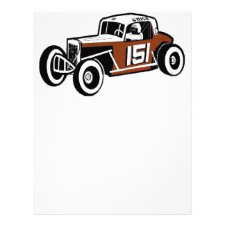 Chick Stockwell Old Time Race Car Racearena Letterhead
