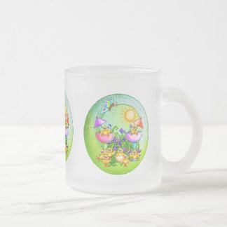 Chick Thing Frosted Glass Coffee Mug