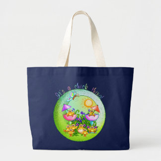 Chick Thing Large Tote Bag
