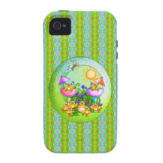 Chick Thing Pixel Art Case-Mate iPhone 4 Cover