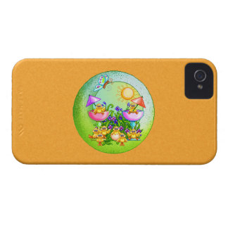 Chick Thing Pixel Art iPhone 4 Case-Mate Case