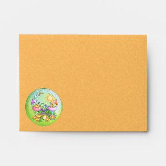 Chick Thing Pixel Art Envelope