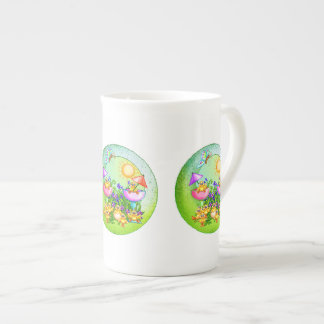 Chick Thing Pixel Art Tea Cup