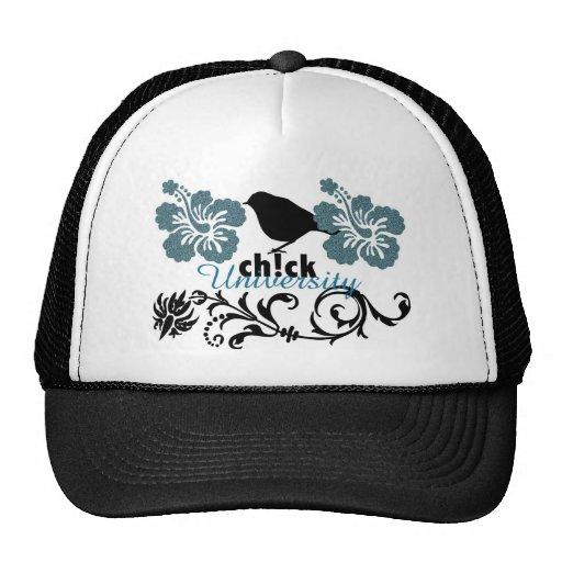 chick university trucker hat
