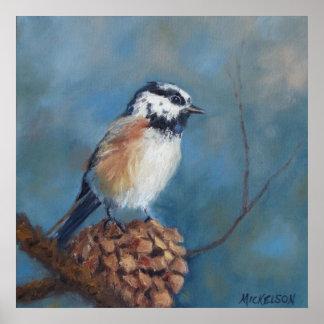 Chickadee 2 Fine Art Poster