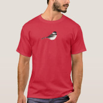 Chickadee Art for Dark Backgrounds T-Shirt