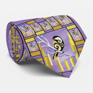 Chickadee Art Tie by Barbara Rush