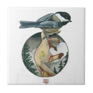 Chickadee Teja Ceramica