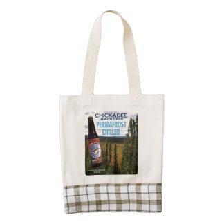 Chickadee Birch Beer Zazzle HEART Tote Bag