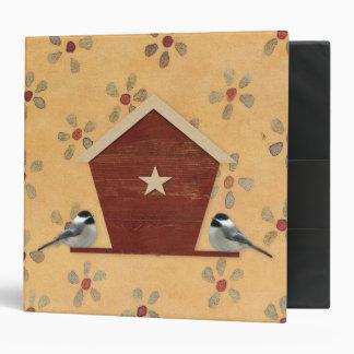 Chickadee Bird Feeder Binder