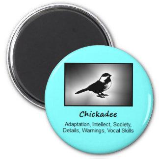 Chickadee Bird Totem Animal Spirit Meaning Magnet