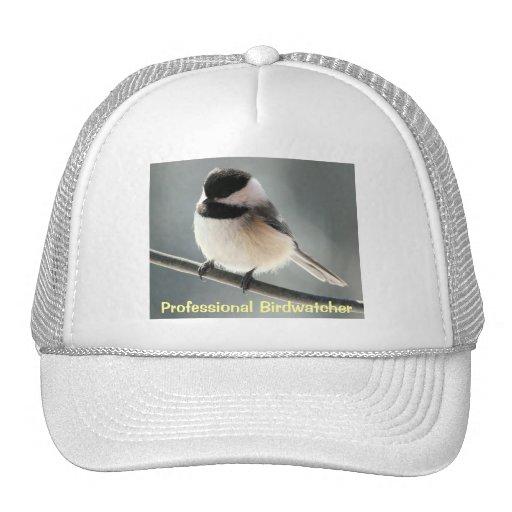 Chickadee Birdwatcher Gorras