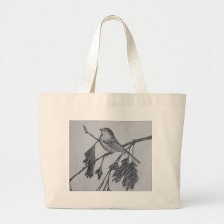 Chickadee Chick a dee chick a dee dee dee Canvas Bag