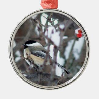 Chickadee Christmas Ornament