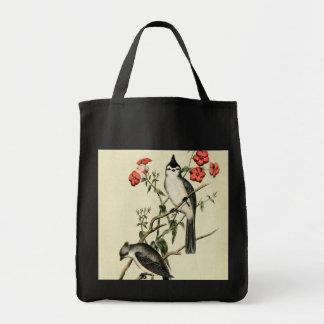 Chickadee con cresta negro bolsas