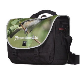Chickadee de Massachusetts Bolsas Para Portatil