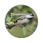 Chickadee de Massachusetts Latas De Caramelos