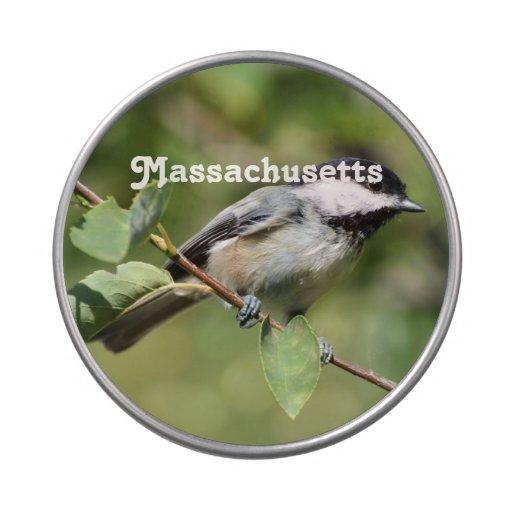 Chickadee de Massachusetts Latas De Dulces