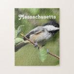 Chickadee de Massachusetts Rompecabezas