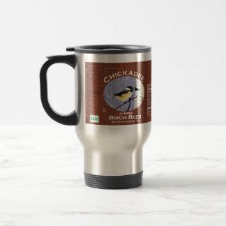 Chickadee-dee-dee 15 Oz Stainless Steel Travel Mug