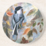 Chickadee In the Fall Coaster