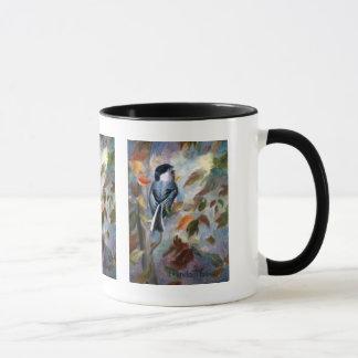 Chickadee In the Fall Mug