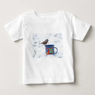 Chickadee in the Snow Baby T-Shirt