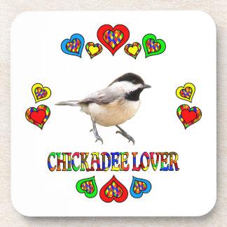 Chickadee Lover Beverage Coaster