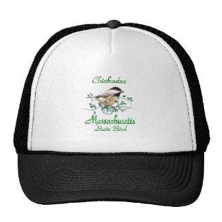 Chickadee Massachusetts State Bird Trucker Hat