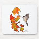 Chickadee Mouse Pad