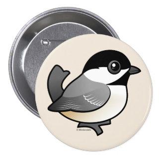 Chickadee Negro-capsulado Pin