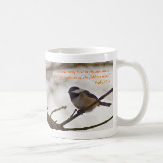 Chickadee on a Twig Coffee Mug