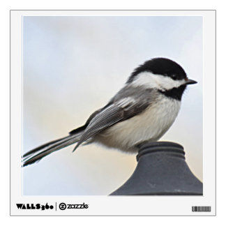 Chickadee photo wall sticker
