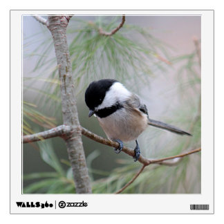 Chickadee Wall Decal